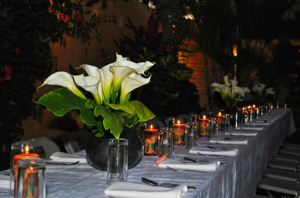 Erica and Ken\'s Wedding Table.
